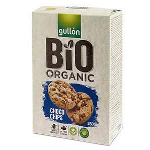 Печенье GULLON BIO Organic Choco Chips, 250 г