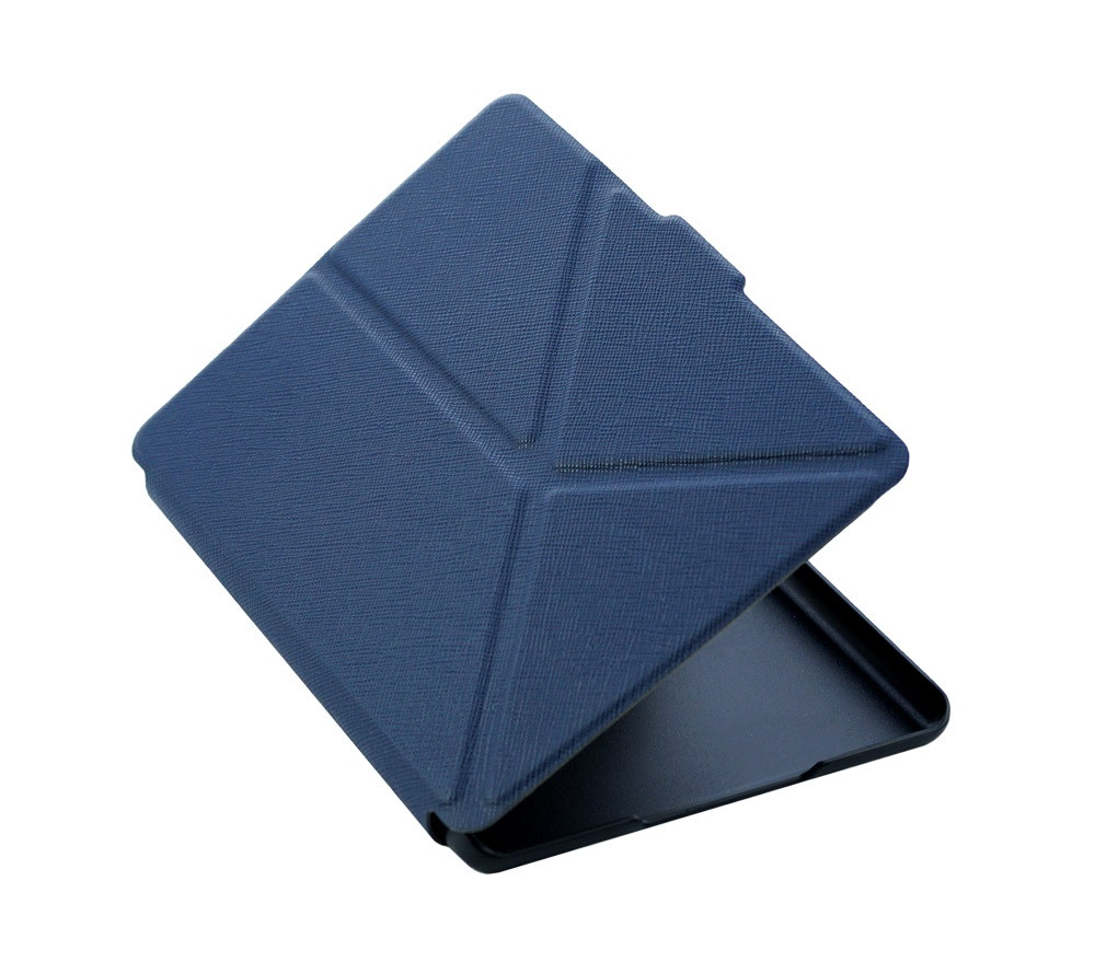 Чехол для амазон кайндл 8 (2016) трансформер синий полуоткрытый