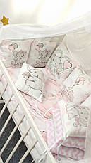 """Набор постельного белья детскую кроватку/ манеж """"Слоник"""" - Бортики в кроватку / Защита в детскую кроватку, фото 3"""