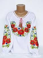 Вышитая детская блуза для девочки