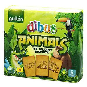 Печенье GULLON DIBUS Animals, 600 г