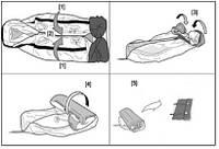 как сложить надувную лодку