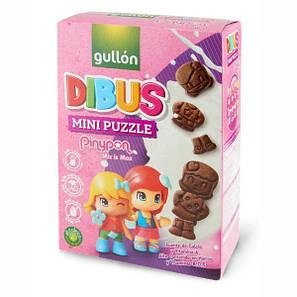 Печенье GULLON DIBUS Mini PinyPon, 250 г