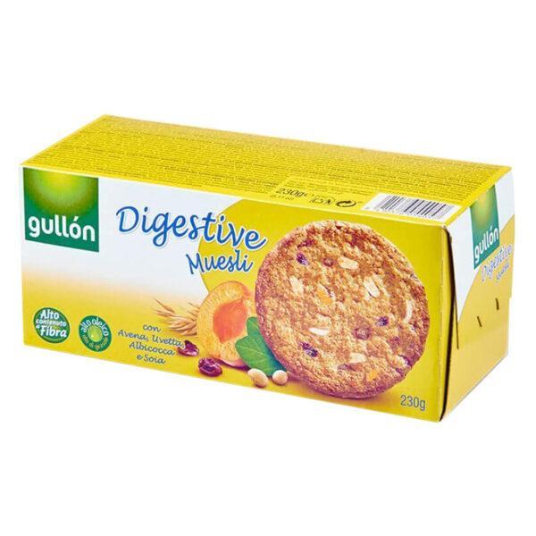 Печенье GULLON Digestive Muesli, 365 г