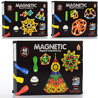 Магнітний конструктор AQ-755 3 види 43-48 деталей