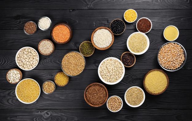 Крупы, зерна, семена