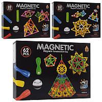 Магнітний конструктор AQ-755-1 3 види 60-62 деталей