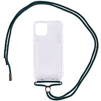 "Чехол TPU Crossbody Transparent для Apple iPhone 11 (6.1"")"