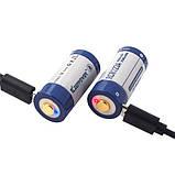 Акумулятор Keeppower RCR123A 3V 860 mAh USB (пара), фото 2