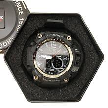 Годинники наручні G SHOCK GG-100B. Колір: платиновий