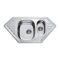 Мийка кухонна HAIBA 100x50 (satin) (HB0524)