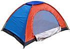 ОПТ Автоматическая трехместная палатка 200*150*135 однослойная в чехле, фото 2
