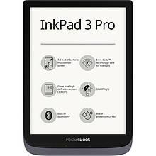 "Электронная книга PocketBook InkPad3 Pro 740 Metallic Grey (PB740-2-J-CIS); 7.8"" (1872х1404) E Ink Carta, 300"