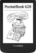 """Электронная книга PocketBook 628 Black (PB628-P-CIS); 6"""" (1024х758) E Ink Carta, сенсорный с подсветкой, ОЗУ"""