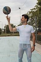 Футболка чоловіча велосипедна біла, фото 3