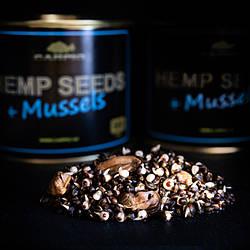 Семена конопли Hemp Seeds+Mussels (с молюсками) 500мл Carpio