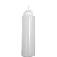Бутылка для соусов с мерной шкалой 360 мл. прозрачная, фото 1