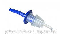 Гейзер барный пластиковый синий длинный FoREST