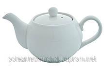 Чайник заварочный фарфоровый 500 мл. белый Elara, FoREST