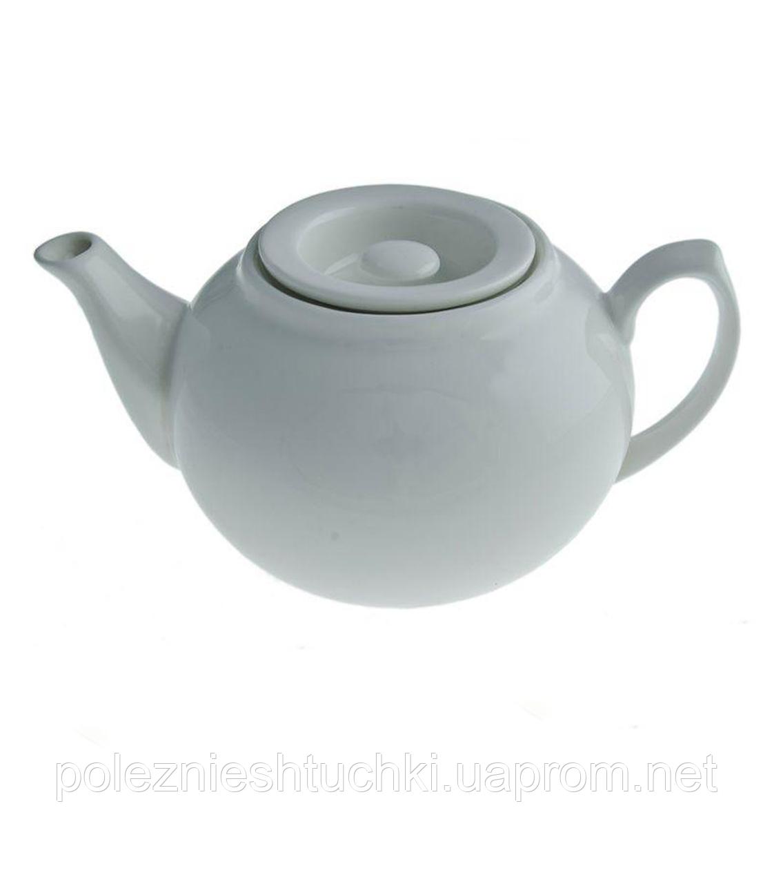 Кришка для заварювального чайника фарфоровий (для 770255) біла Cafe time, FoREST