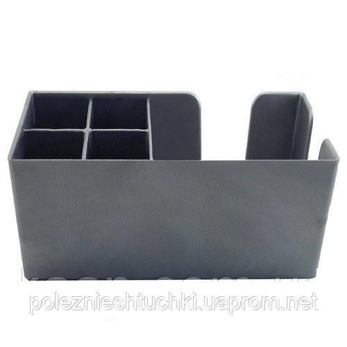 Барний організатор на 6 клітинок пластиковий, срібний 24х15 див. The Bars