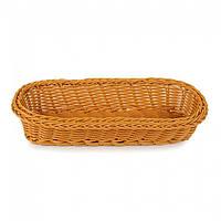 Корзинка для столовых приборов плетеная