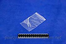 Пакет ZIP со струнным замком 8х12 см., 100 шт/уп полипропиленовый (99097)