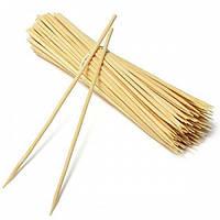 Шпажка-шампур для шашлику 15 див., 2,5 мм, 100 шт/уп бамбукова