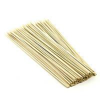 Шпажка-шампур для шашлику 25 див., 2,5 мм, 100 шт/уп бамбукова
