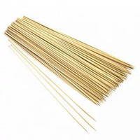 Шпажка-шампур для шашлику 40 см, 2,8 мм, 100 шт/уп бамбукова