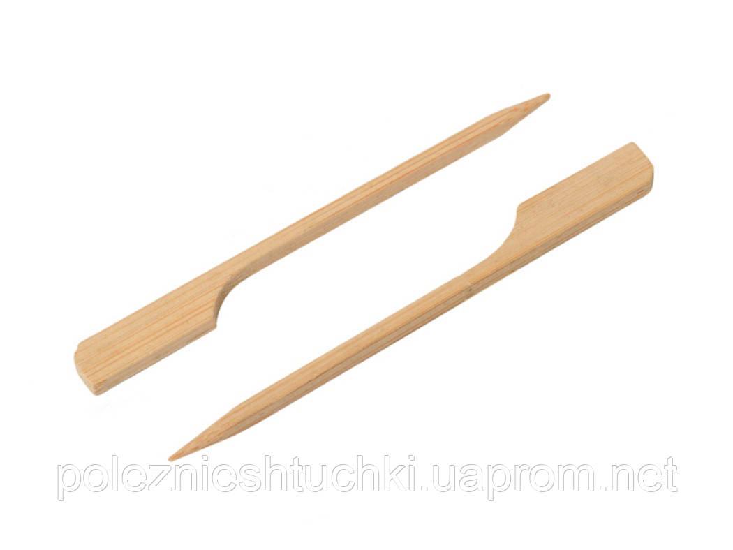 Шпажка для шашлику Японські 9 див., 100 шт/уп бамбукові, гольф