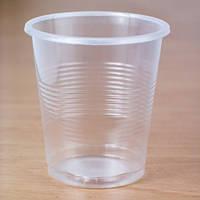 Стакан одноразовий 100 мл, 100 шт. пластиковий, прозорий