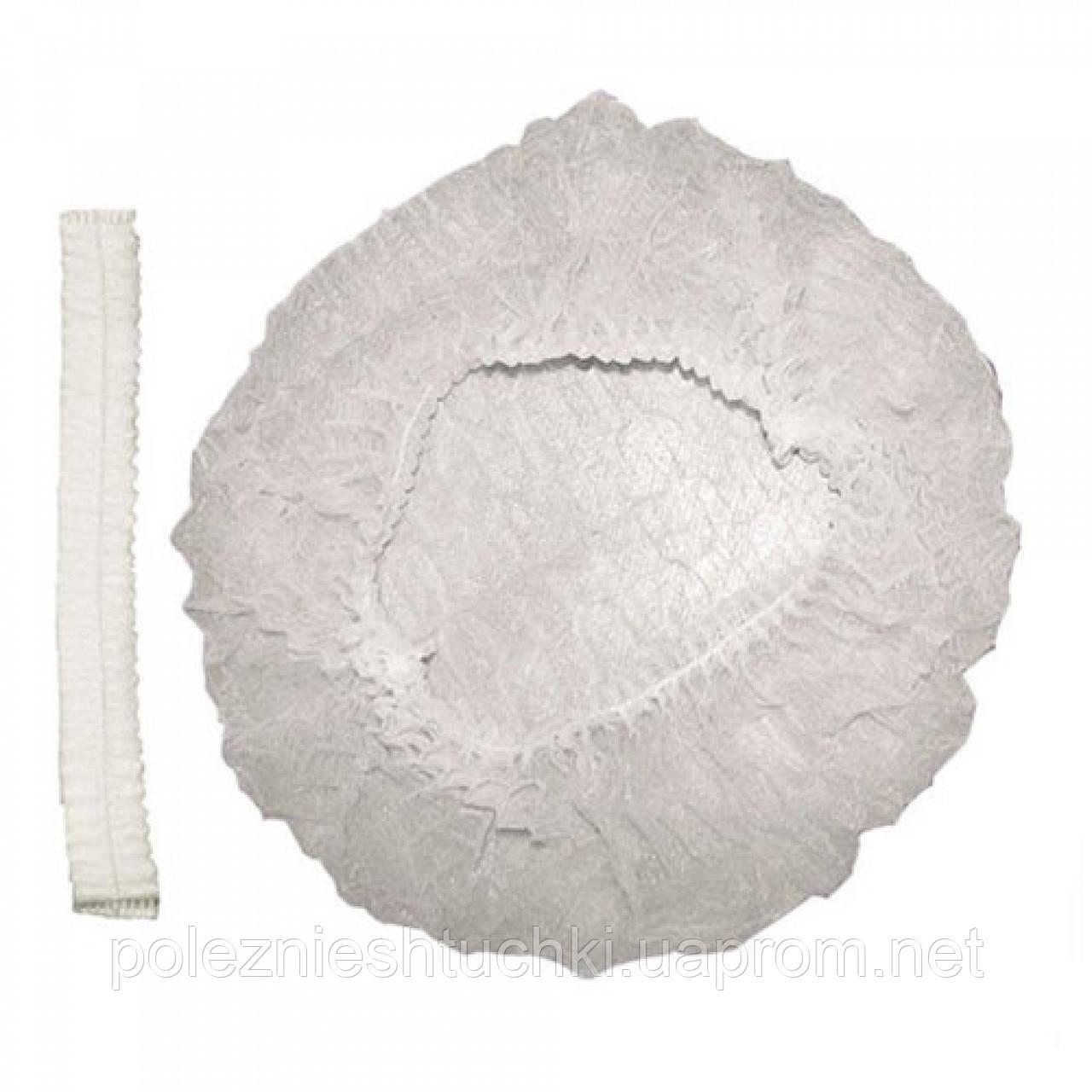 Шапочка-берет Одуванчик 100 шт. белая