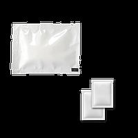 Серветка волога одноразова в індивідуальній упаковці 15х15 см., 500 шт/уп біла упаковка