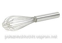 Венчик мягкий 25 см., 12 прутьев с ручкой из нержавеющей стали Winco