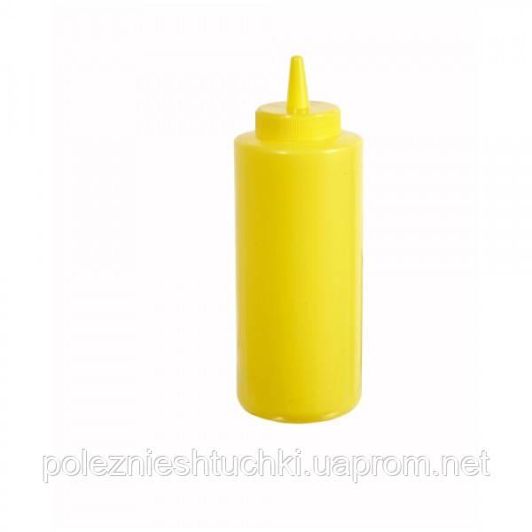Дозатор для гірчиці (жовтий) 720мл