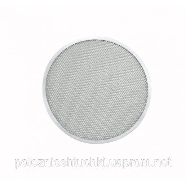 Форма-сетка для пиццы 35 см. алюминиевая (экран для пиццы) Winco