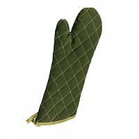 Рукавиця пекарська 38.1 див. WINCO , бавовняна зелена кольору (10060)