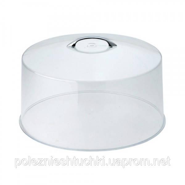 Кришка до підставці для торта 30х17 див. акрилова (підставка 10155)