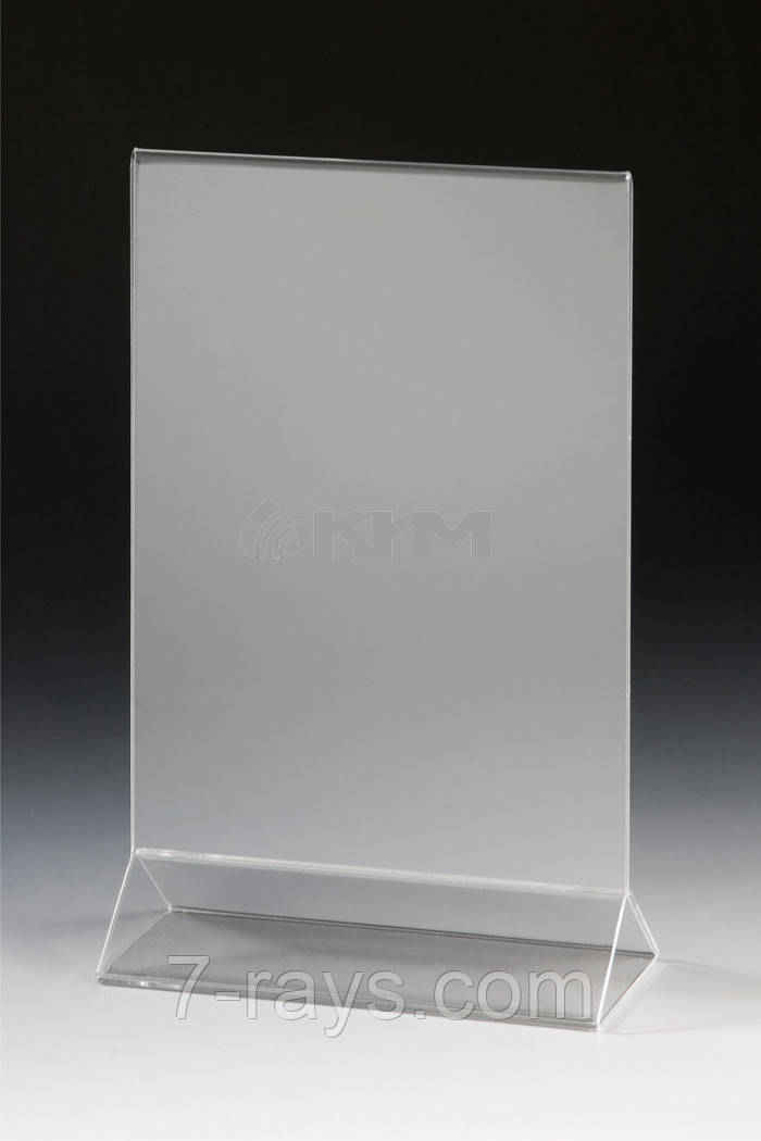 Подставка для меню пластиковая 13х18 см. Winco