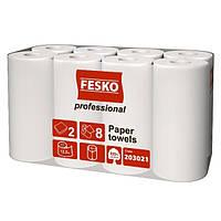 Рушник паперовий FESKO Professional 8 рулону/уп