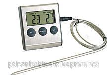 Термометр з зондом і таймером кухонний +300 ºС Hendi