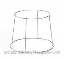 Подставка-этажерка для блюд 25-20х19 см. 2-х ярусная металлическая Hendi (480502)