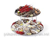 Подставка для морепродуктов 2-х ярусная Hendi