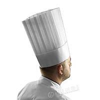 Колпак для шеф-повара, набор 10 шт; 30х28см, вискоза белый , Le Grand Chef , Hendi
