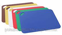 Набір обробних дощок 29х38 див. Hendi, пластикові різні кольори (826324)