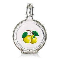 Бутылка для настойки с бугельной крышкой 400 мл. стеклянная с рисунком вишни PEAR, Banquet
