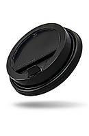 Крышка PP черная с открывающимся питейником Ǿ=80мм