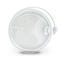 Кришка з пітейніком PP Ø = 90мм   Прозора для склянок NEW