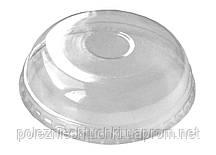 Крышка купол для контейнера под мороженого Ǿ=87 мм. РЕТ прозрачная (Контейнер 011107, 011108, 011109)
